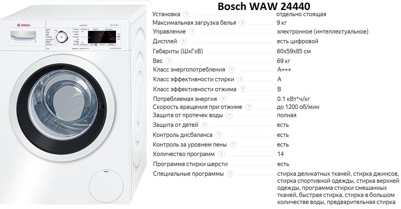 Bosch WAW 24440