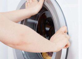 Не открывается дверца после стирки в стиральной машине LG