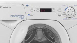 Ошибка Е14 на стиральной машине канди