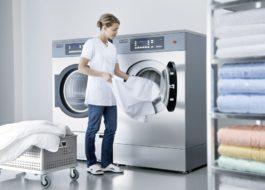 Обзор профессиональных стиральных машин LG для прачечных
