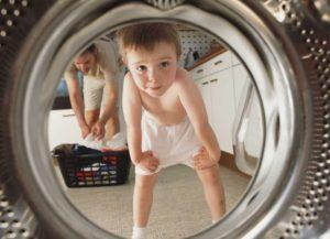 Как включить и отключить блокировку от детей на стиральной машине LG