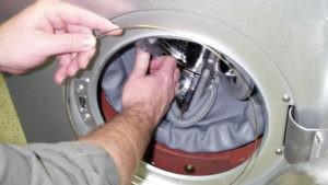Как поменять манжету на стиральной машине LG