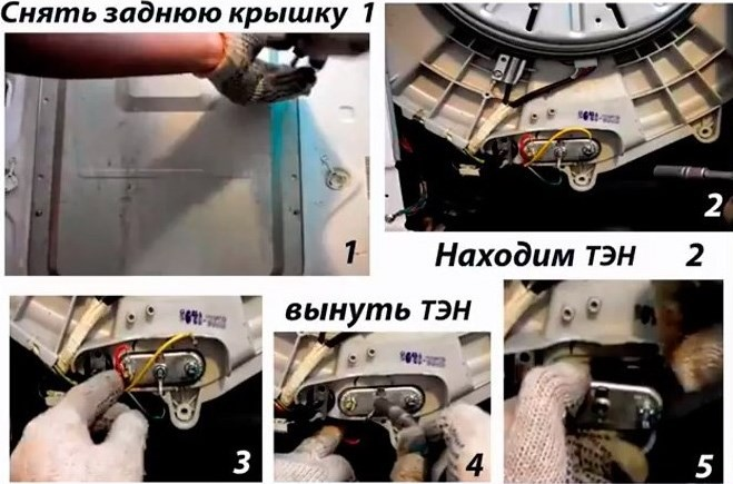 проверка термодатчика СМ Канди