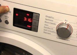 Сервисный тест стиральной машины Бош