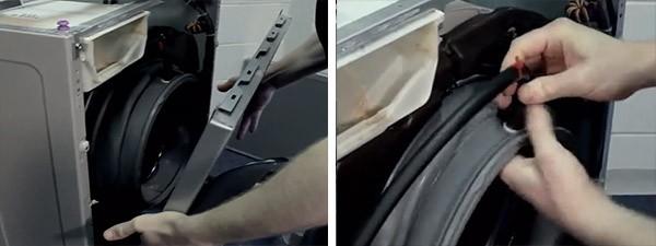 замена манжеты на стиралке LG_10