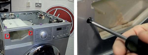 замена манжеты на стиралке LG_3