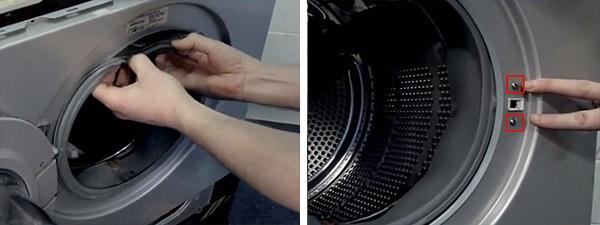 замена манжеты на стиралке LG_8