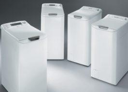 Обзор стиральных машин Аристон с вертикальной загрузкой