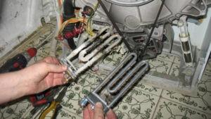 замена ТЭН на стиральной машине Ariston