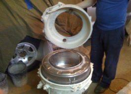 Разборка барабана стиральной машины Индезит