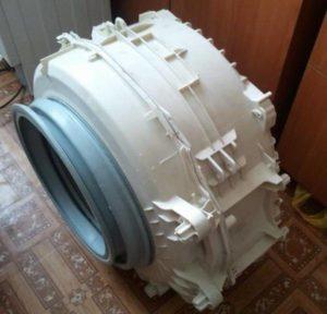 Снятие барабана стиральной машины Индезит
