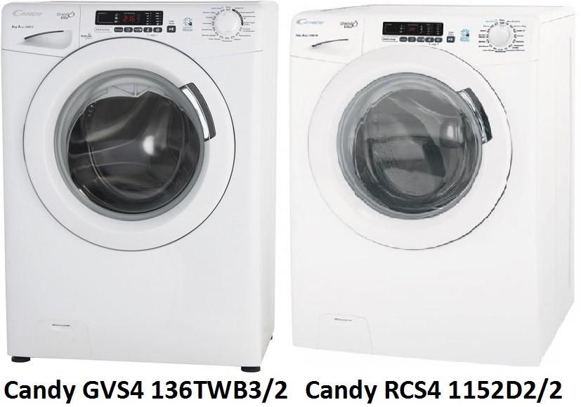 Candy GVS4 136TWB3 2 Candy RCS4 1152D2 2