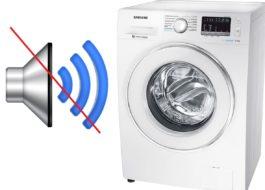 Как отключить звук на стиральной машине Samsung