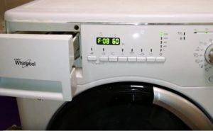 Ошибка F08 на стиральной машине Вирпул