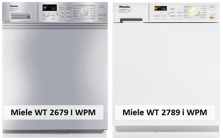 Miele WT 2679 I WPM Miele WT 2789 i WPM
