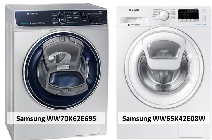 Samsung WW70K62E69S Samsung WW65K42E08W