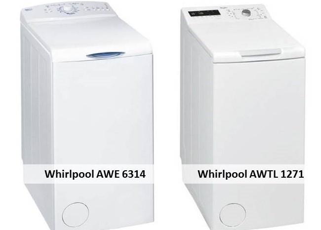 Whirlpool AWE 6314 Whirlpool AWTL 1271