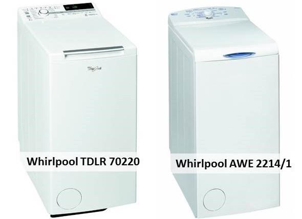 Whirlpool TDLR 70220 Whirlpool AWE 2214 1
