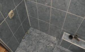 Место установки стиральной машины в ванной