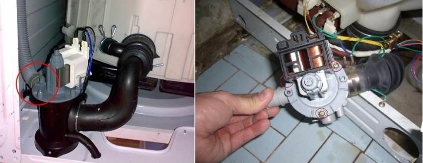проверим помпу стиральной машины Сименс