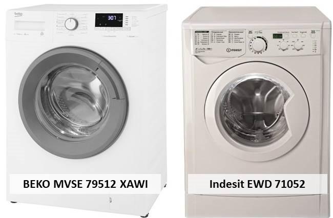 BEKO MVSE 79512 XAWI и Indesit EWD 71052