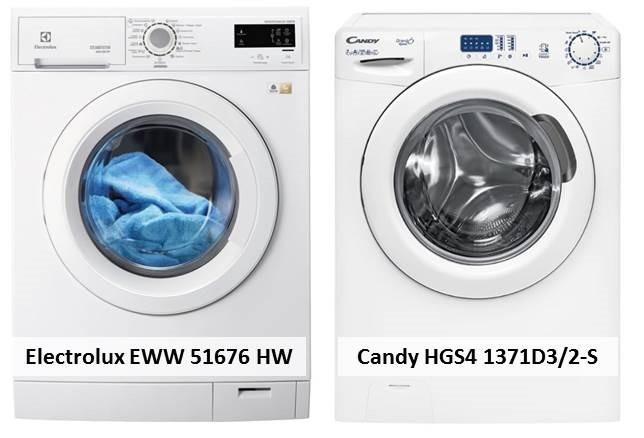 Candy HGS4 1371D3 2-S Electrolux EWW 51676 HW