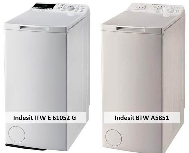 Indesit ITW E 61052 G Indesit BTW A5851