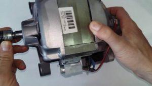Неисправен мотор стиральной машины Занусси