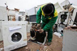 можно заказать профессиональную утилизацию стиральной машины