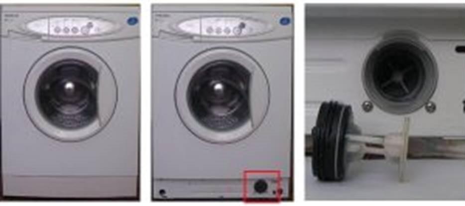 слейте воду из бака, выкрутите пробку фильтра и проверьте в чем дело
