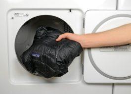 Как постирать парку в стиральной машине