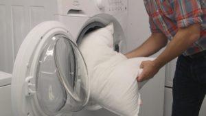 Как постирать подушку из холлофайбера в стиральной машине