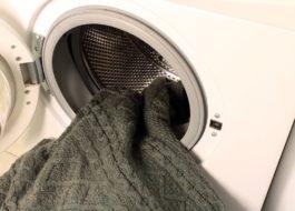 Как постирать свитер в стиральной машине