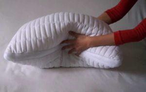 взбивайте подушку чтобы наполнитель не слежался