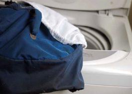 Как постирать рюкзак в стиральной машине