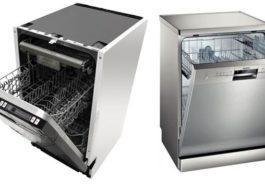 Выбор встраиваемой посудомоечной машины