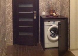 Как скрыть стиральную машину в коридоре?