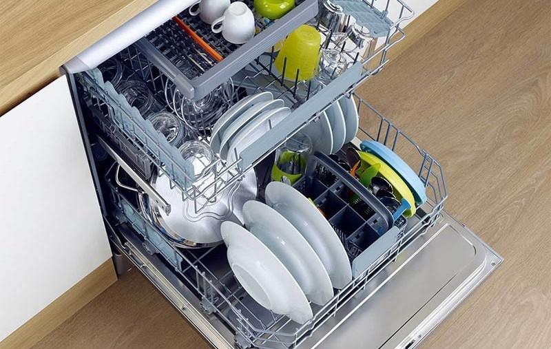 важен объем загрузки посудомойки