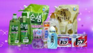корейских стиральных порошков довольно много