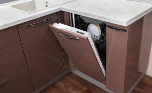 Как расположить посудомоечную машину на кухне