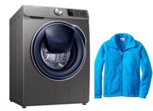 Как стирать флисовые вещи в стиральной машине