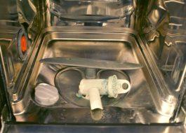 Как удалить плесень в посудомоечной машине?