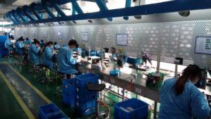 Китайское производство Леран