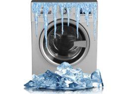 Можно ли хранить стиральную машину на морозе?