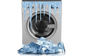 Можно ли хранить стиральную машину на морозе