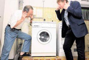 Почему стиральная машина пищит при стирке
