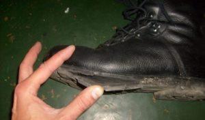 если ботинки требуют ремонта