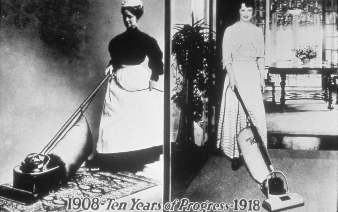 Hoover производит пылесосы с 1908 года