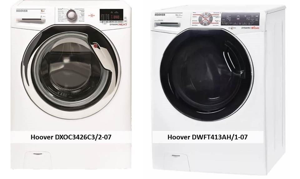 Hoover DWFT413AH1-07 Hoover DXOC3426C32-07