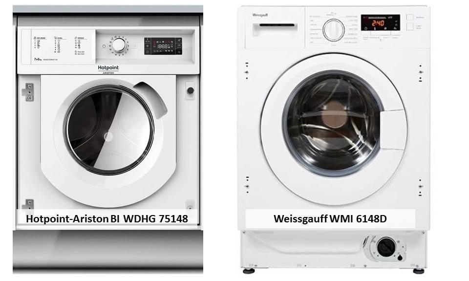 Hotpoint-Ariston BI WDHG 75148 Weissgauff WMI 6148D